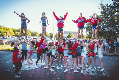 Cheer Practice Outside-9