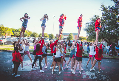 Cheer Practice Outside-5