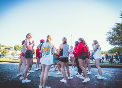 Cheer Practice Outside-24