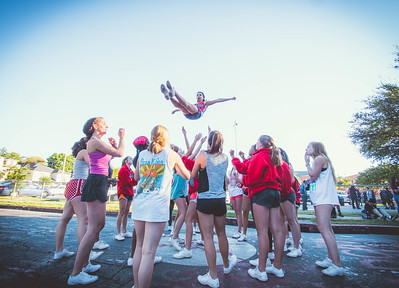 Cheer Practice Outside-21