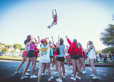 Cheer Practice Outside-17