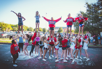 Cheer Practice Outside-8