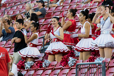Cheerleaders at Frisco Game-3
