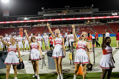 Cheerleaders at Frisco Game-48