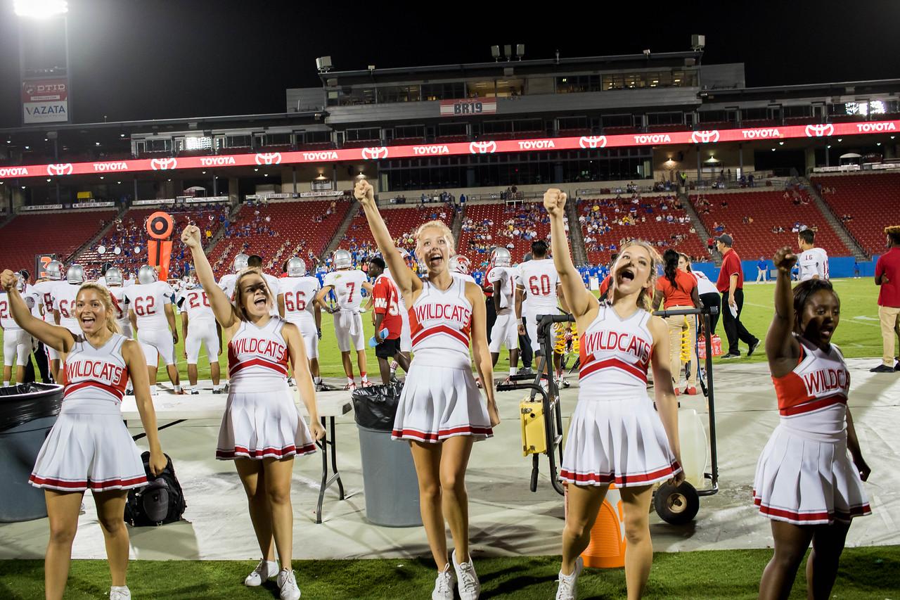 Cheerleaders at Frisco Game-48