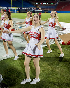 Cheerleaders at Frisco Game-30