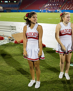 Cheerleaders at Frisco Game-26