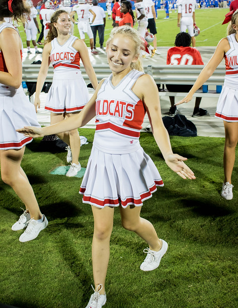 Cheerleaders at Frisco Game-38
