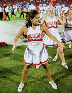 Cheerleaders at Frisco Game-34