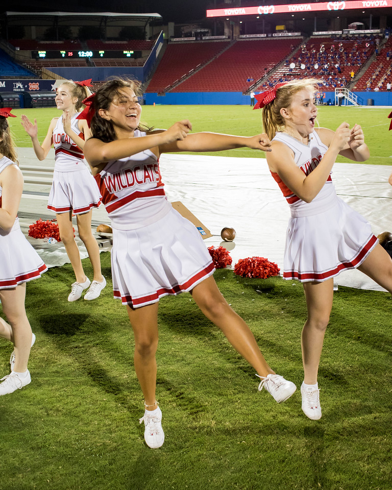 Cheerleaders at Frisco Game-27