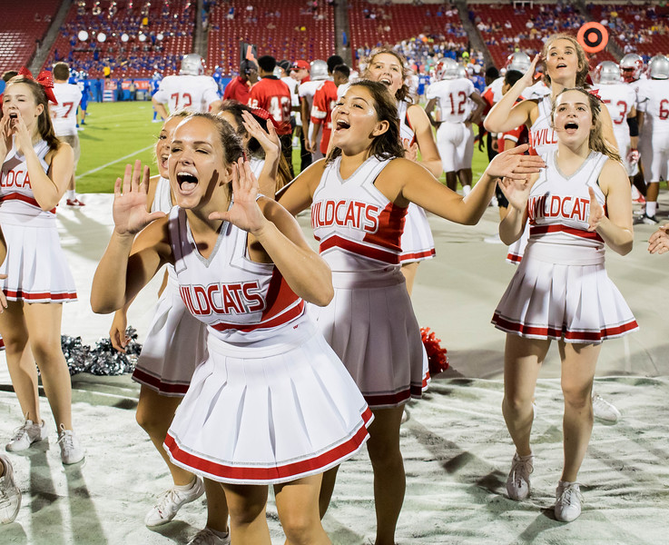 Cheerleaders at Frisco Game-14