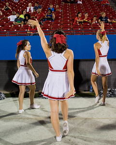 Cheerleaders at Frisco Game-23