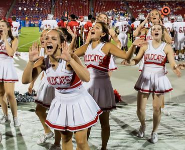 Cheerleaders at Frisco Game-13