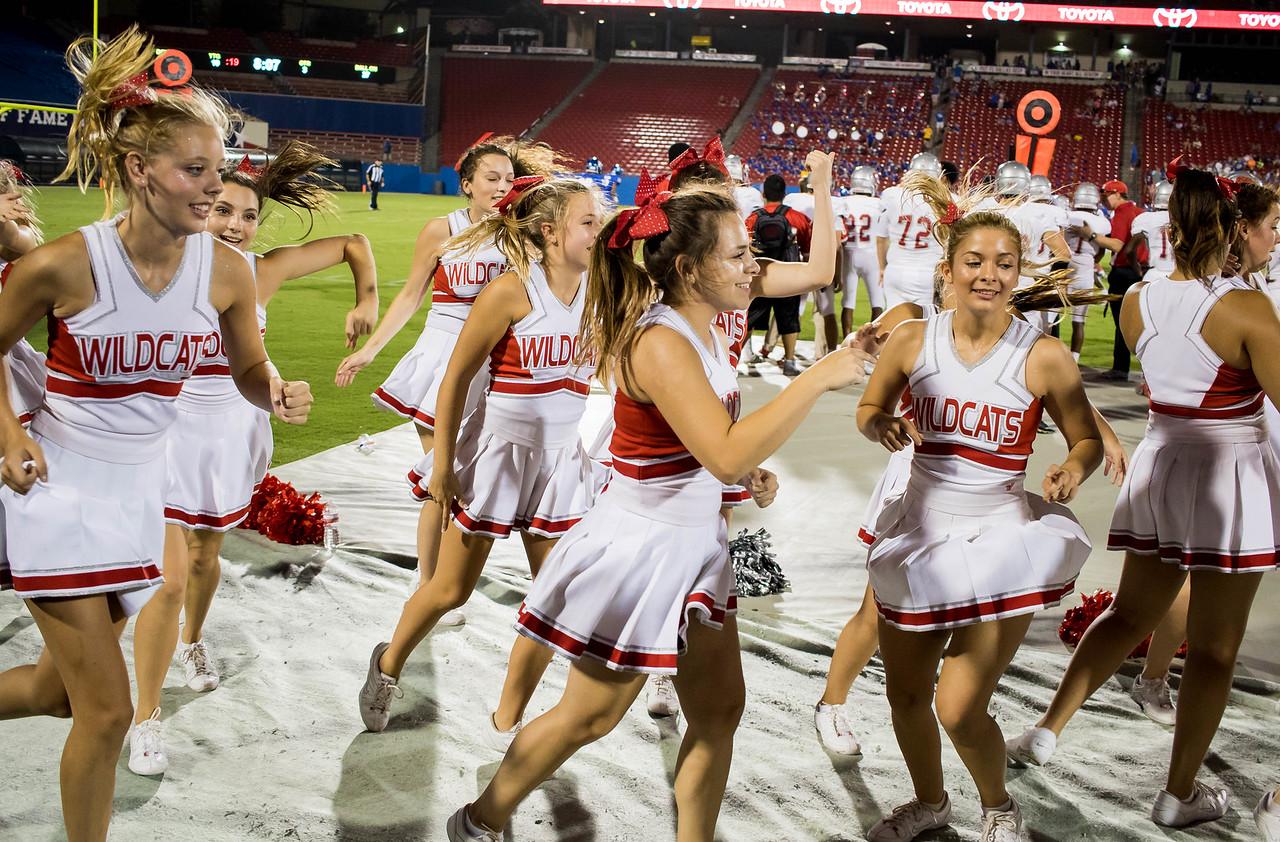 Cheerleaders at Frisco Game-20
