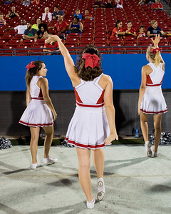 Cheerleaders at Frisco Game-22