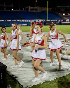 Cheerleaders at Frisco Game-32