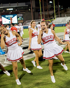 Cheerleaders at Frisco Game-29