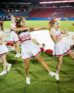 Cheerleaders at Frisco Game-28