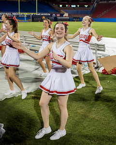 Cheerleaders at Frisco Game-31