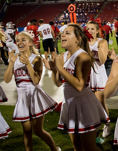 Cheerleaders at Frisco Game-6