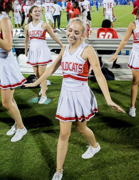 Cheerleaders at Frisco Game-37
