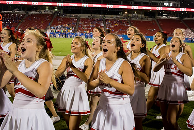 Cheerleaders at Frisco Game-7