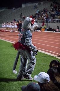 Cheerleaders - Varsity at Kimball Game-13