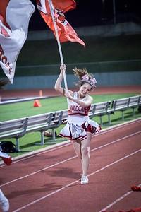 Cheerleaders - Varsity at Kimball Game-35