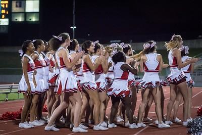 Cheerleaders - Varsity at Kimball Game-39