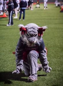 Cheerleaders - Varsity at Kimball Game-6