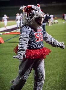 Cheerleaders - Varsity at Kimball Game-7