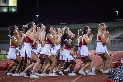Cheerleaders - Varsity at Kimball Game-47