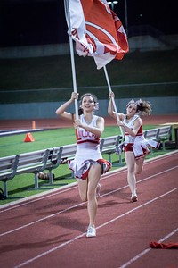 Cheerleaders - Varsity at Kimball Game-32