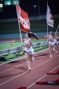 Cheerleaders - Varsity at Kimball Game-29