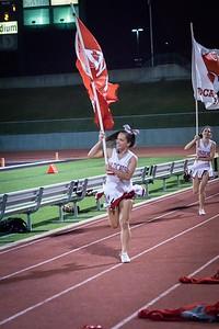 Cheerleaders - Varsity at Kimball Game-27