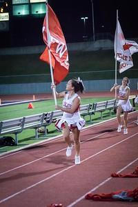 Cheerleaders - Varsity at Kimball Game-26