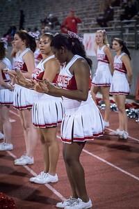 Cheerleaders - Varsity at Kimball Game-16