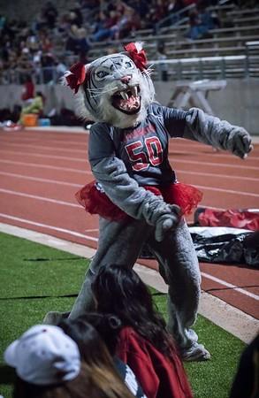 Cheerleaders - Varsity at Kimball Game-14