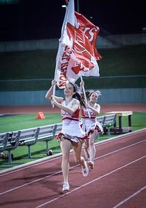 Cheerleaders - Varsity at Kimball Game-31