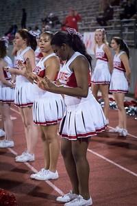 Cheerleaders - Varsity at Kimball Game-17