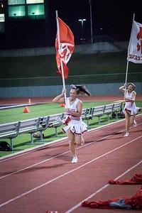 Cheerleaders - Varsity at Kimball Game-28