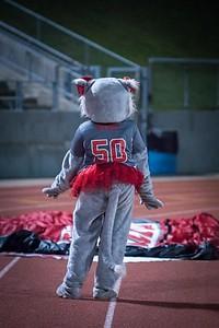 Cheerleaders - Varsity at Kimball Game-20