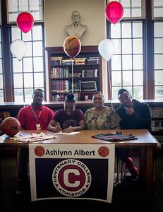 Ashlynn Albert's Signing-9