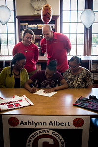 Ashlynn Albert's Signing-3