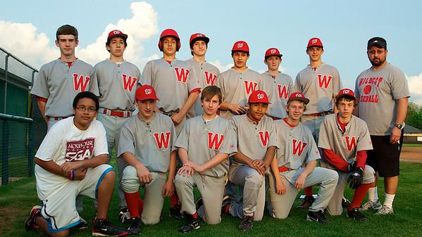 Baseball JV 2012