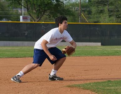 Baseball - JV PracticeR 33