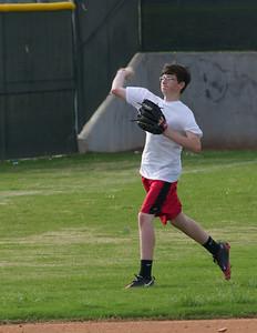 Baseball - JV PracticeR 19