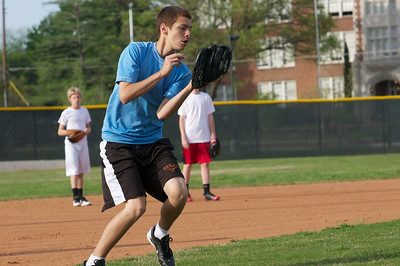 Baseball - JV PracticeR 40