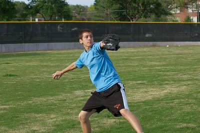 Baseball - JV PracticeR 27