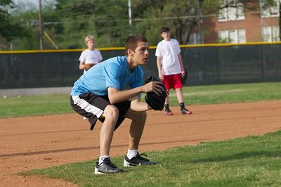 Baseball - JV PracticeR 36
